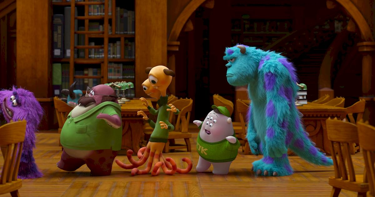 Funday - 14 Ways Monsters University Was Just Like Real University! - 1007