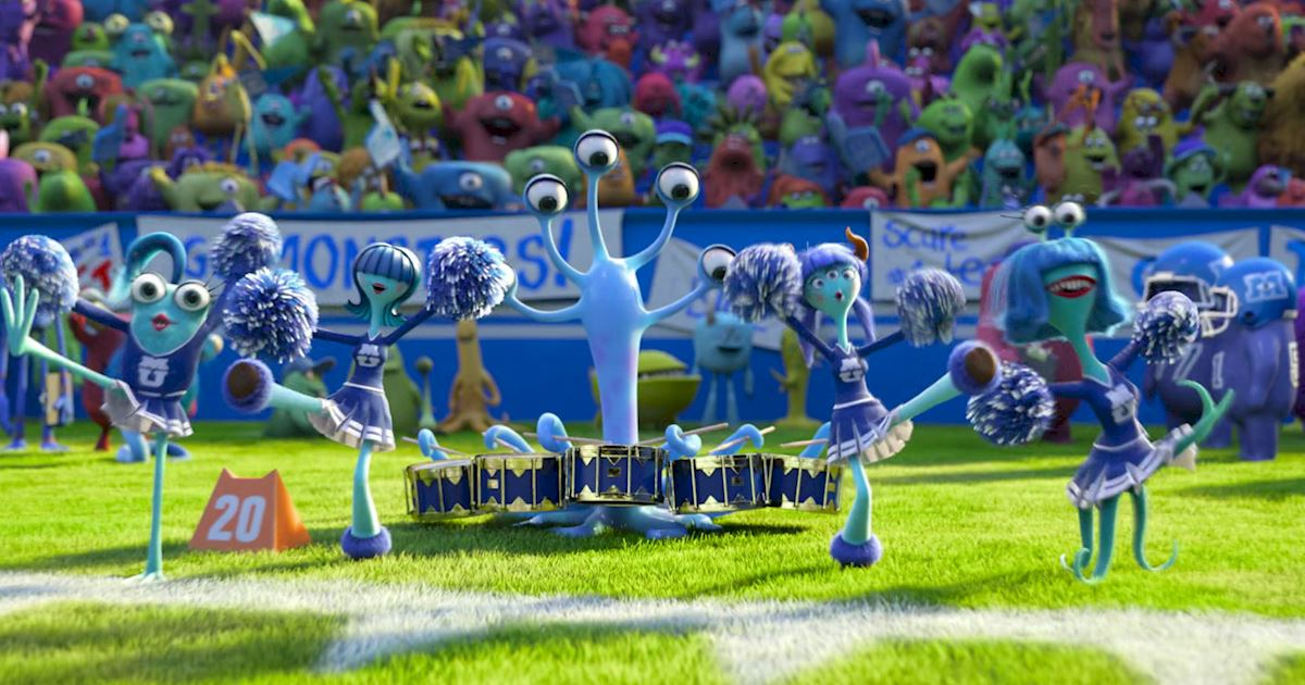 Funday - 14 Ways Monsters University Was Just Like Real University! - 1009