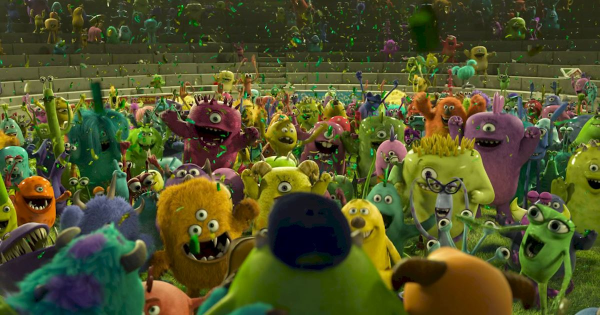 Funday - 14 Ways Monsters University Was Just Like Real University! - 1010