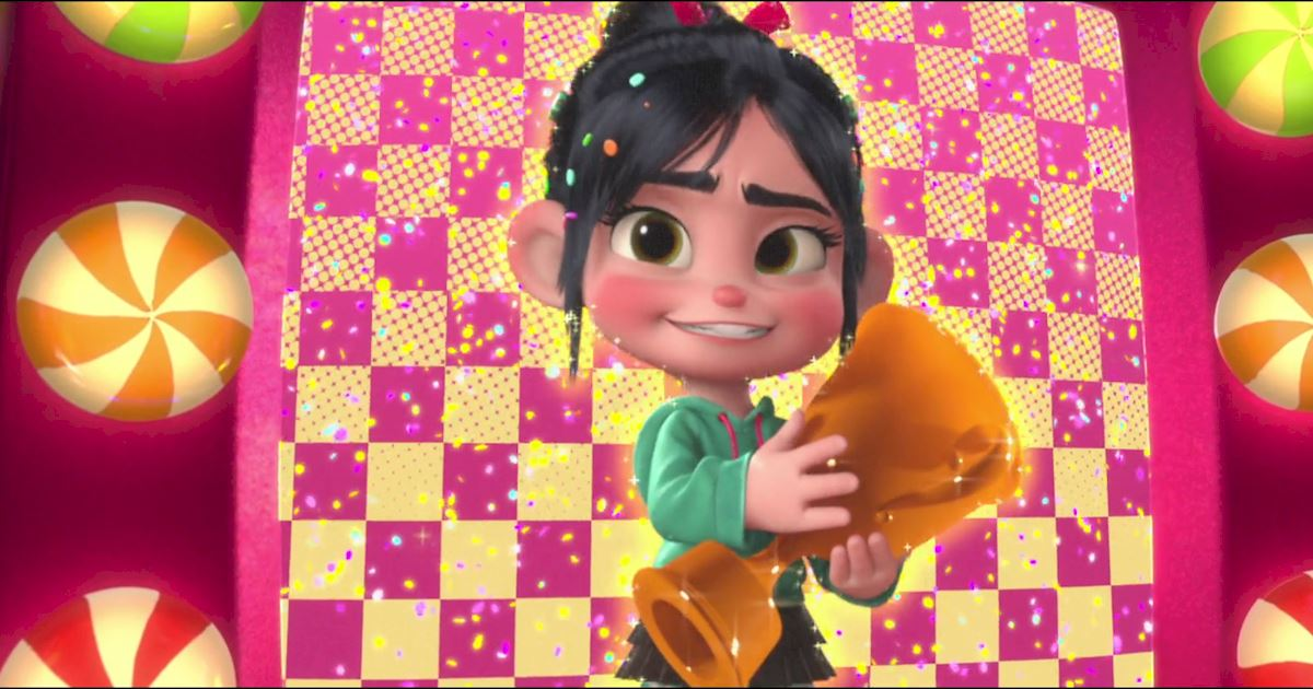 Funday - 10 Reasons Why We All Love Vanellope Von Schweetz! - 1013