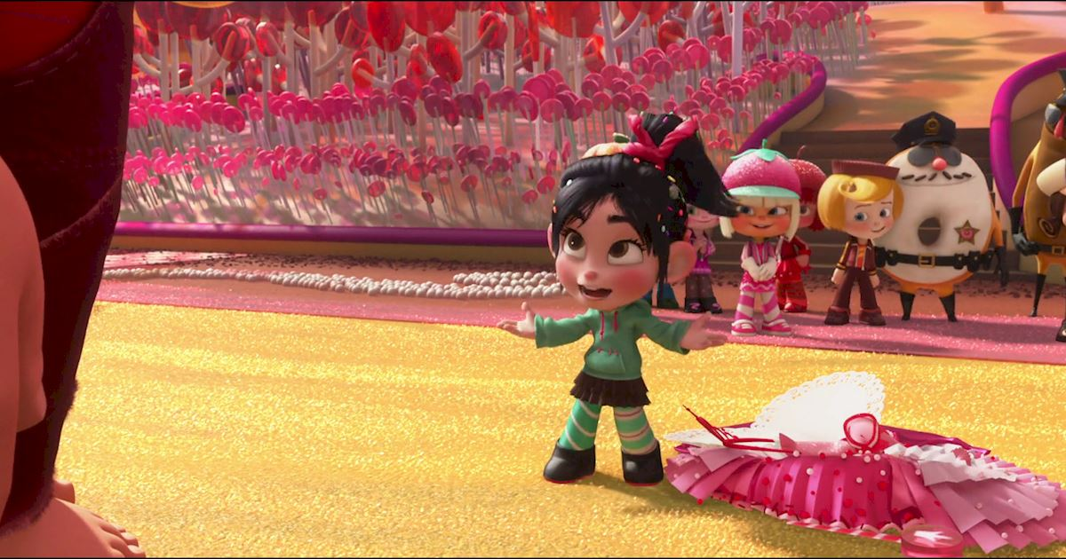 Funday - 10 Reasons Why We All Love Vanellope Von Schweetz! - 1011