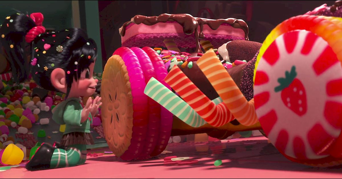 Funday - 10 Reasons Why We All Love Vanellope Von Schweetz! - 1004