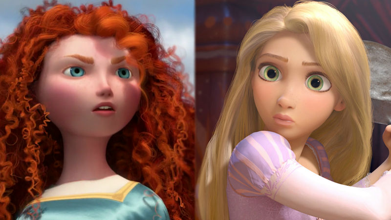 Funday - Are You Radiant Like Rapunzel Or Magical Like Merida? - Thumb
