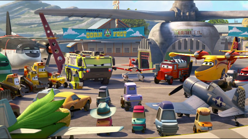 Funday - Which Character From Planes: Fire & Rescue Are You? - Thumb