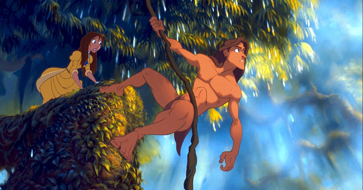 Funday - 8 Reasons You Should Live In The Jungle With Tarzan - 1002