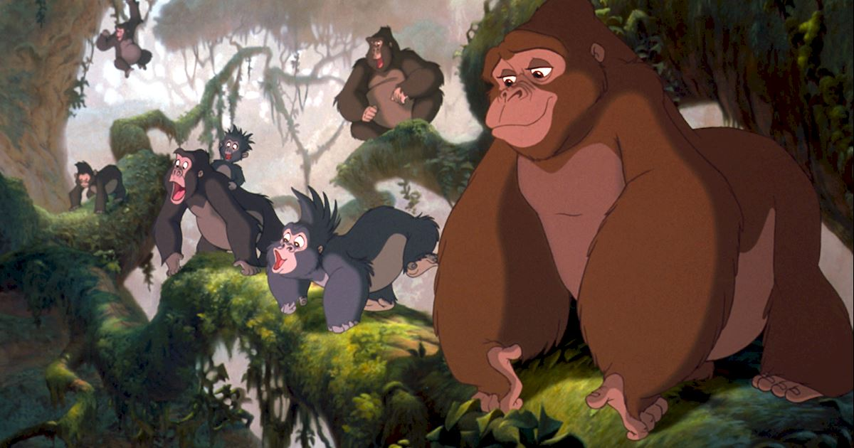 Funday - 8 Reasons You Should Live In The Jungle With Tarzan - 1006