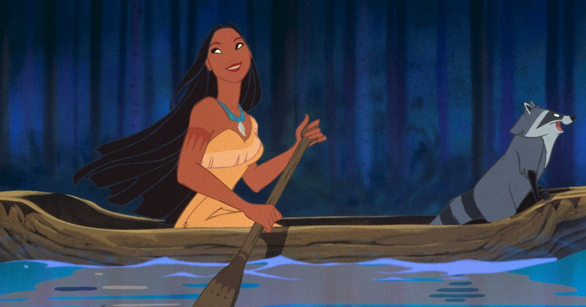 Funday - 8 Times Pocahontas' Hair Was On Point! - 1003