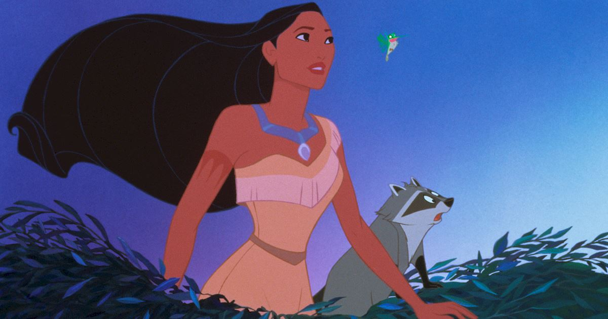 Funday - 8 Times Pocahontas' Hair Was On Point! - 1005
