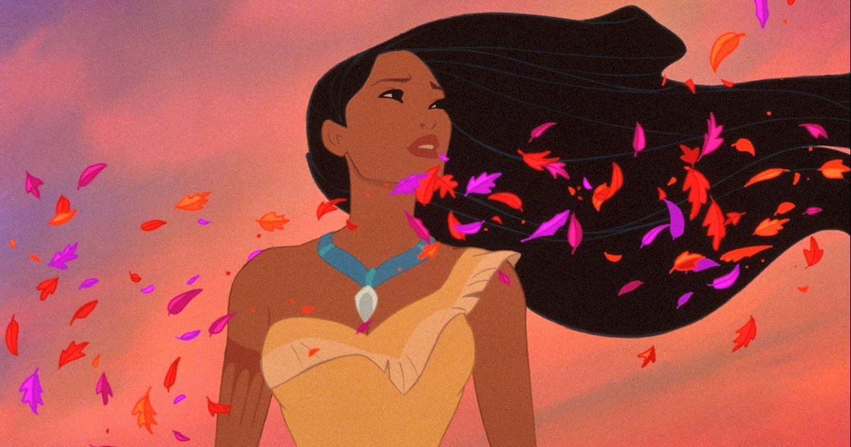 Funday - 8 Times Pocahontas' Hair Was On Point! - 1008