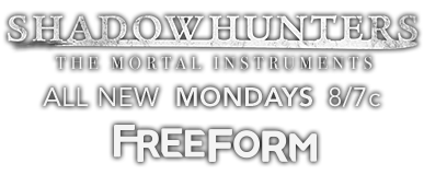 Shadowhunters and Freeform Logos