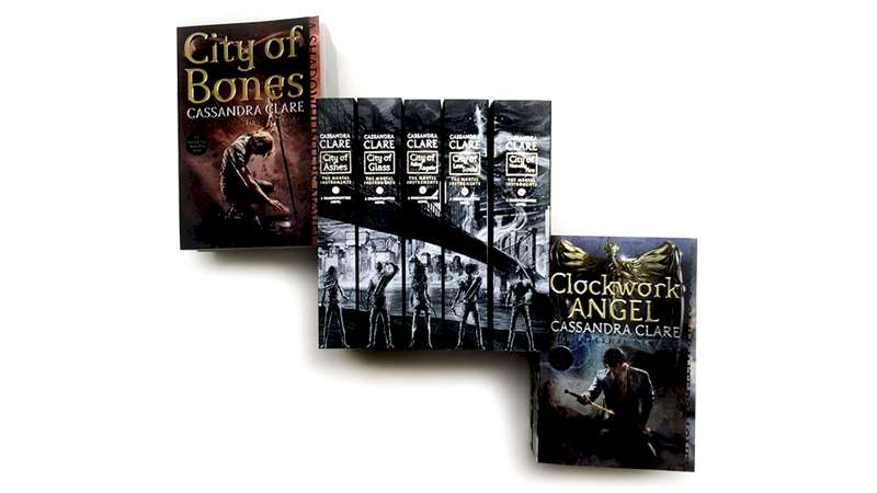 Shadowhunters - BRAND NEW Book Covers For The Mortal Instruments  - Thumb