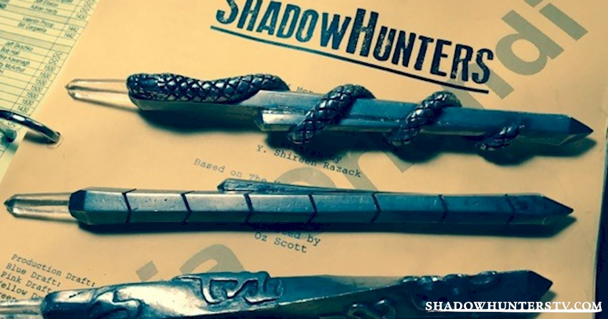 A First Look At The Shadowhunters Steles