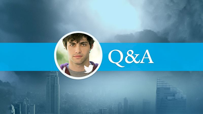 Shadowhunters - [EXCLUSIVE] Twitter Chat With Matthew Daddario - Thumb