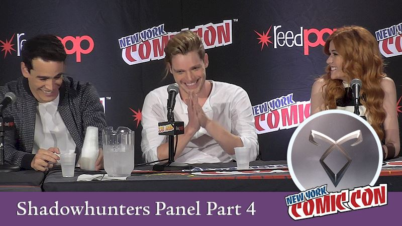 Shadowhunters - [EXCLUSIVES!] Highlights Part 4: Shadowhunters Comic Con Panel Interview - Thumb