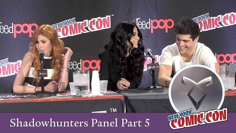 Shadowhunters - Shadowhunters Comic Con Panel: The Big Finish! - Thumb
