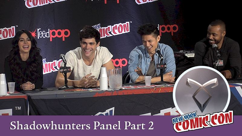 Shadowhunters - [EXCLUSIVE VIDEOS] Part 2: Shadowhunters Comic Con Panel Interview - Thumb