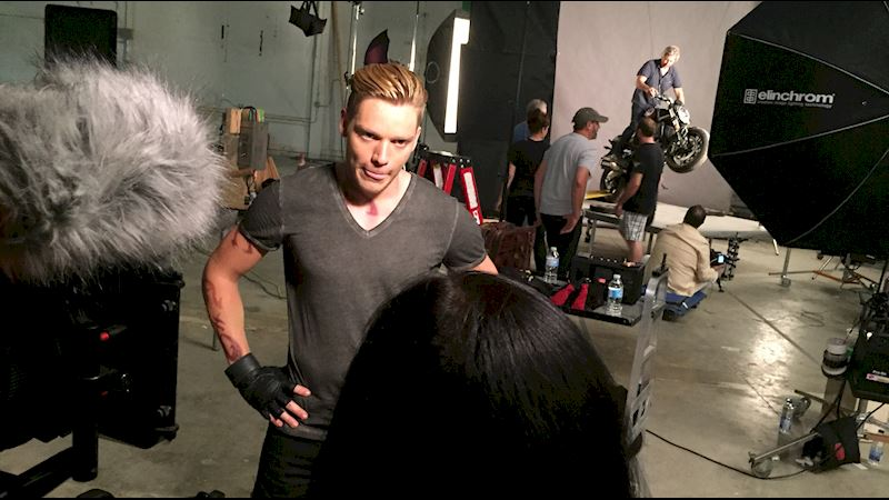 Shadowhunters - [EXCLUSIVE PHOTO] Caption This Jace Photo!  - Thumb