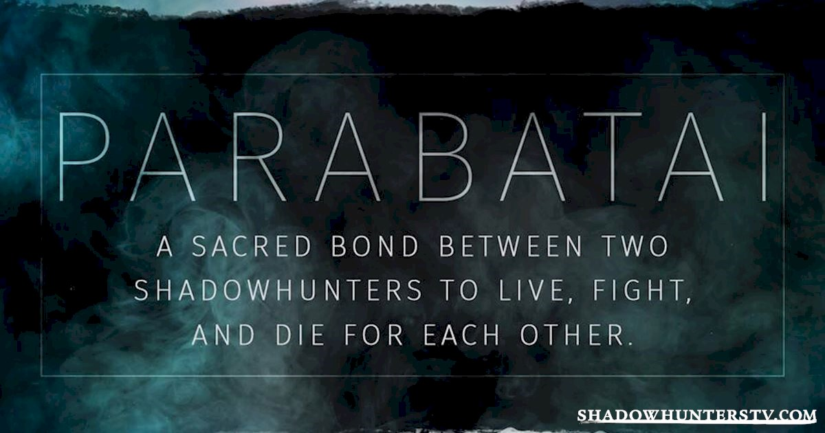 Shadowhunters - The Shadowhunters Jargon Buster - 1006