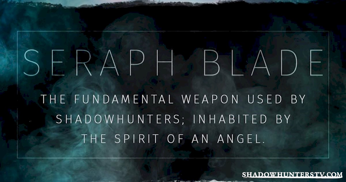 Shadowhunters - The Shadowhunters Jargon Buster - 1008
