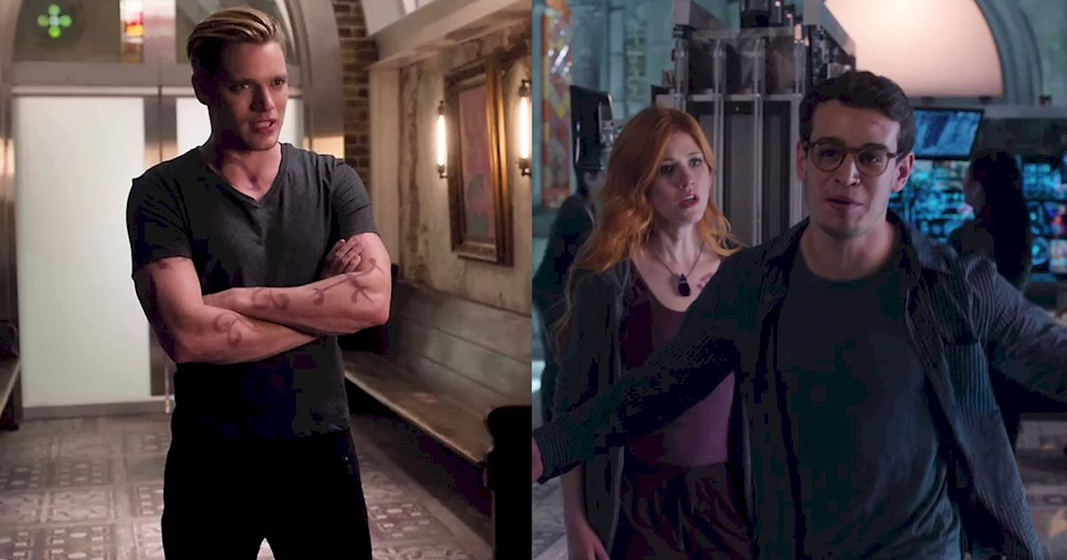 Shadowhunters - Feud Or Friendship? 15 Moments That Defined Jace And Simon's Relationship This Season - 1005