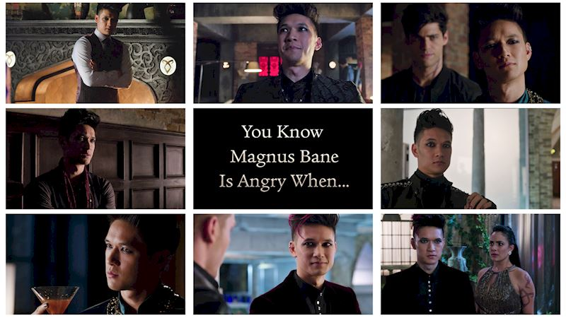 Shadowhunters - You Know Magnus Bane Is Angry When... - Up Next Thumb