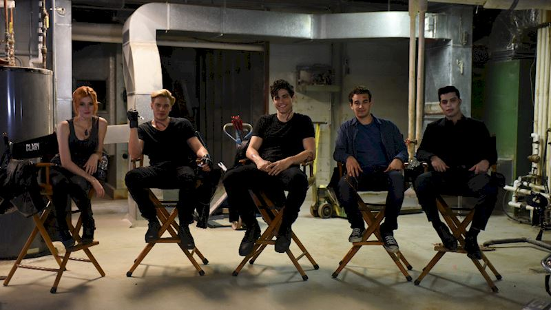 Shadowhunters - [PHOTOS] Episode 103: Behind The Scenes - Thumb