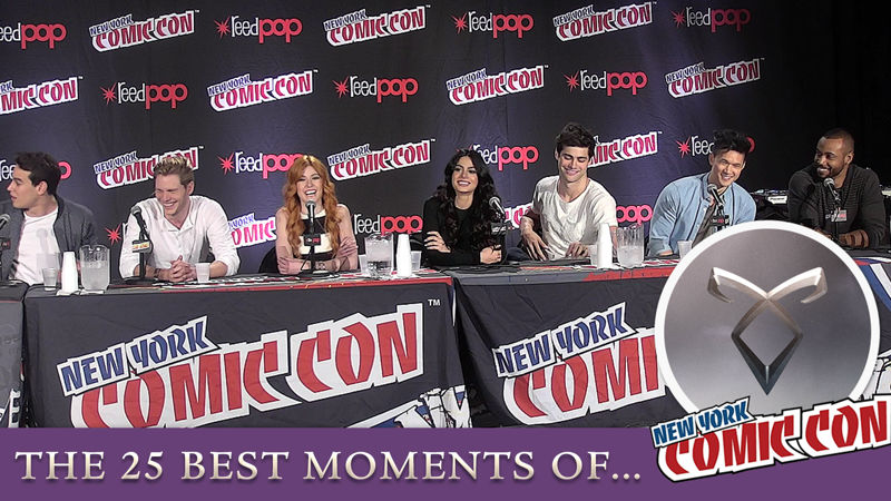 Shadowhunters - Get Ready For NYCC By Reliving The 25 Best Moments Of The 2015 Shadowhunters Panel! - Thumb