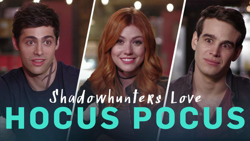 Shadowhunters - The Shadowhunters Cast Are Just As Obsessed With Hocus Pocus As You Are! - Thumb