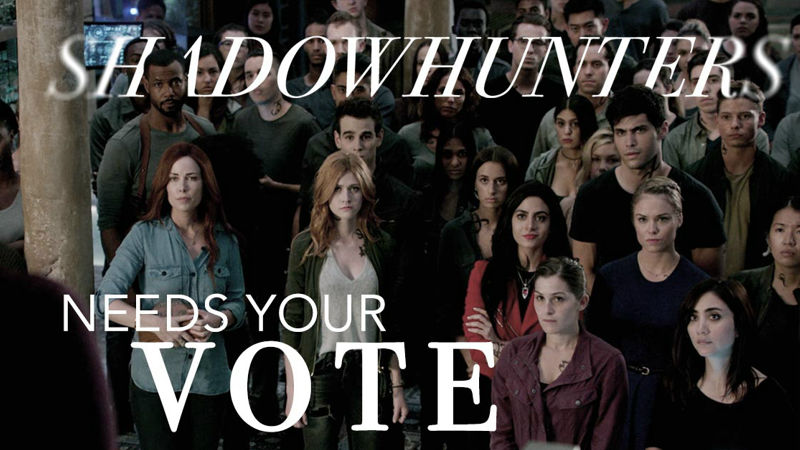 Shadowhunters - Shadowhunters Fandom We Need You To Go Vote In The People's Choice Awards! - Up Next Thumb