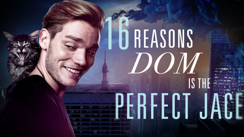 Shadowhunters - 16 Reasons Dom Has Always Been The Perfect Choice For Jace - Thumb