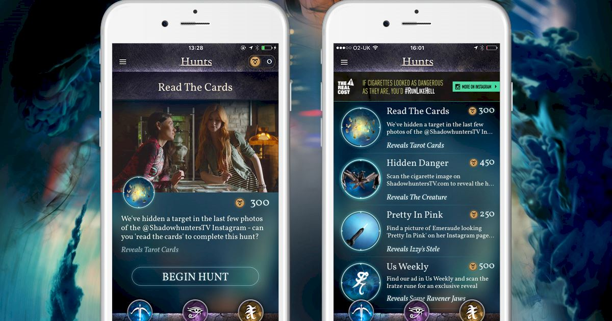 """Shadowhunters - Join The Hunt: New Hunt Released """"Read The Cards""""! - 1003"""