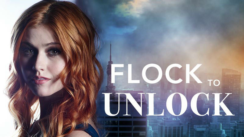 Shadowhunters - Unlock The Official Clary Poster For Season 2 By Tweeting Us With This Hashtag! - Up Next Thumb