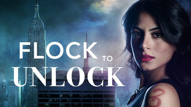 Shadowhunters - Unlock The Official Izzy Poster For Season 2 By Tweeting Us With This Hashtag! - Up Next Thumb