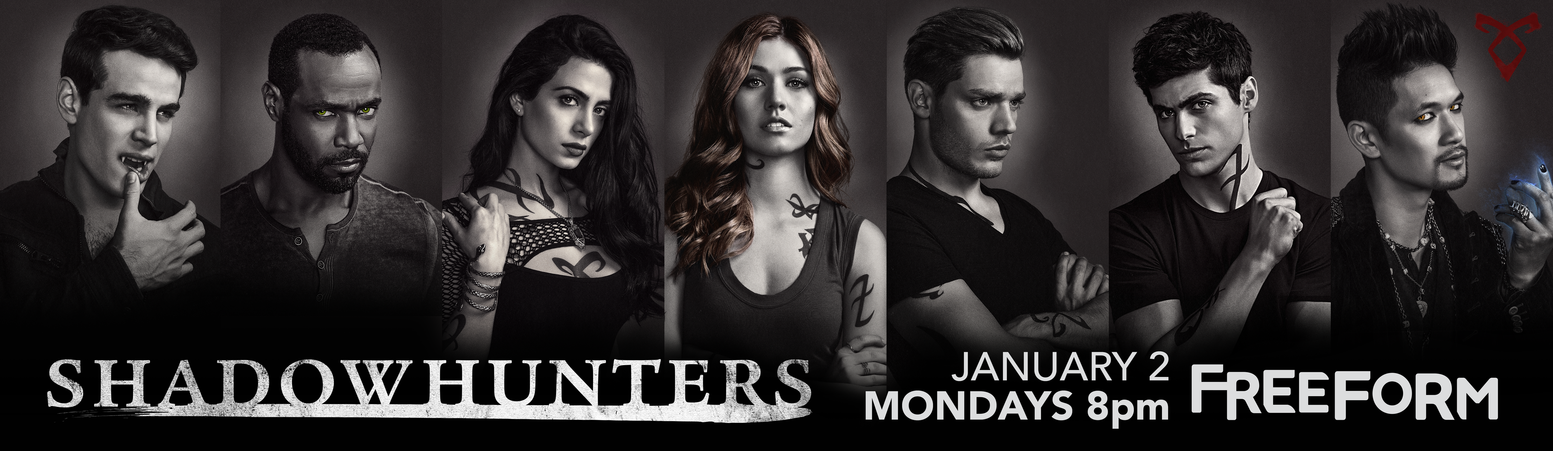 Shadowhunters - Are You Ready To Unlock The Final Shadowhunters Season 2 Posters? We've Got Two More! - 1002