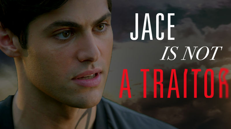 Shadowhunters - Watch Alec And Clary Stand Up For Jace In This Dramatic New Promo! - Thumb
