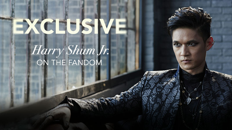 Shadowhunters - Harry Shum Jr. Has An Exclusive Message For All You Amazing Malec Fans! - Thumb