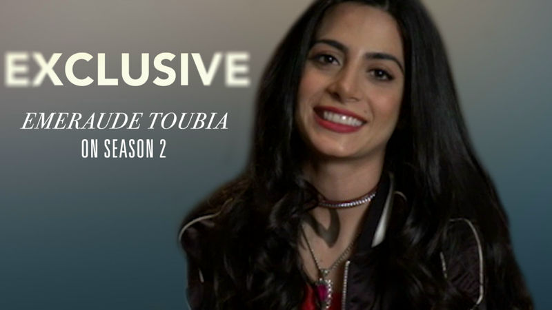 Shadowhunters - Exclusive Video: Emeraude Toubia Tells Us About Her Character In Season 2! - Up Next Thumb