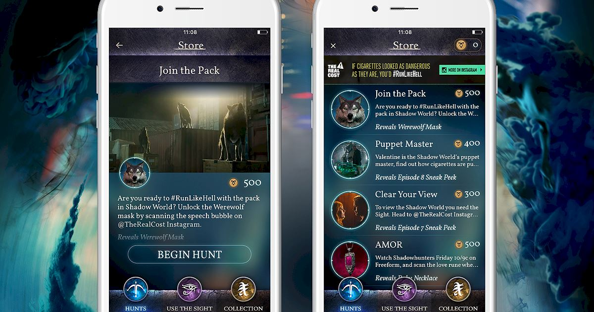 """Shadowhunters - Join The Hunt: New Hunt Released """"Join the Pack""""! - 1003"""