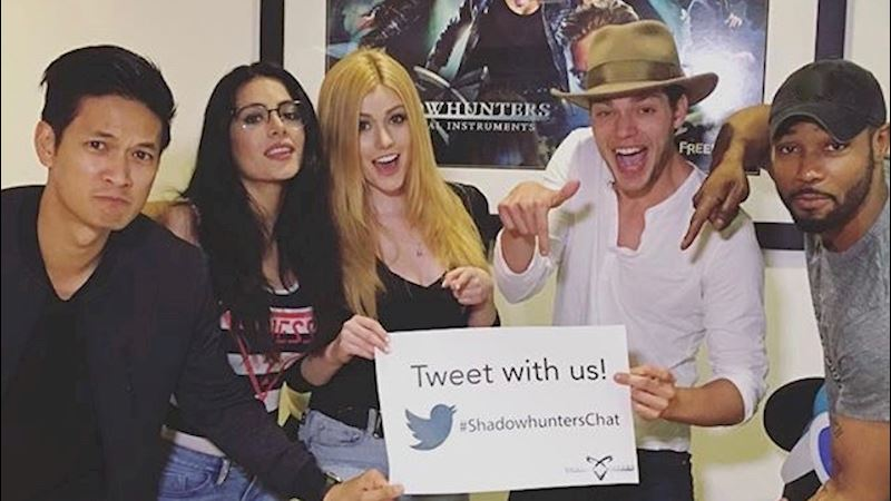 Shadowhunters - Check Out The Cast Commentary For Episode Seven! - Up Next Thumb