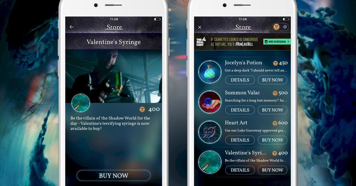 """Shadowhunters - [Join The Hunt] New Store Item """"Valentine's Syringe""""! - 1002"""