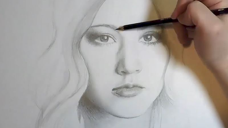 Shadowhunters - Drawing Clary Fray In 60 Seconds! - Thumb