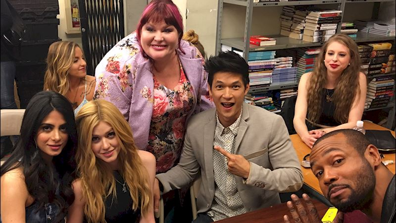 Shadowhunters - Shadowhunters at the Lady Midnight Book Launch! - Thumb