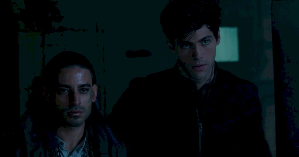 Shadowhunters - The 8 Emotional Stages Of Watching A Parabatai Fight! - 1002