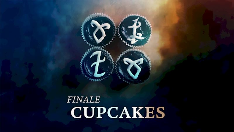 Shadowhunters - Need Snacks For Your Shadowhunters Finale Party? Check Out Our Rune Cupcake Tutorial! - Thumb