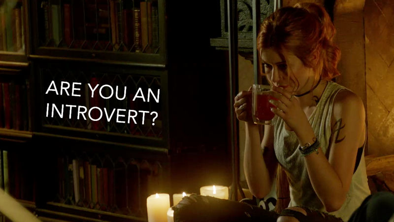 Shadowhunters - 15 Shadowhunters GIFs That Perfectly Sum Up The Introvert Life! - Thumb