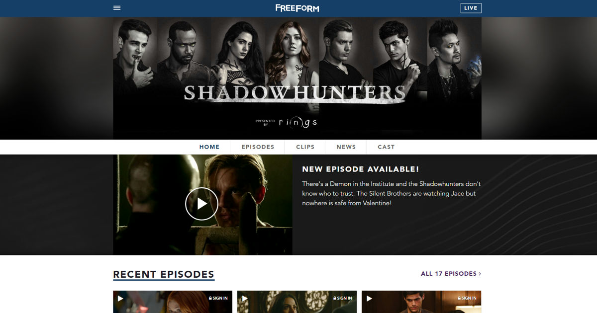Shadowhunters - Welcome To The Amazing New Shadowhunters Website! - 1002